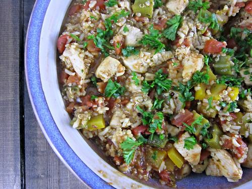 Cajun Chicken & Quinoa