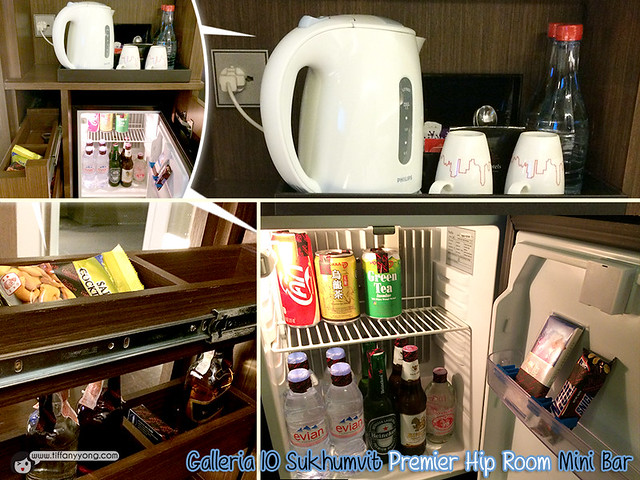 Galleria 10 Premier Hip Room Mini Bar