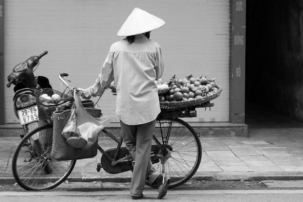 Vendor. Hanoi