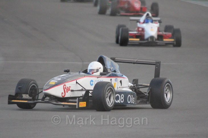 Jeremy Timms in the Monoposto Tiedman Trophy during the BRSCC Winter Raceday, Donington, 7th November 2015