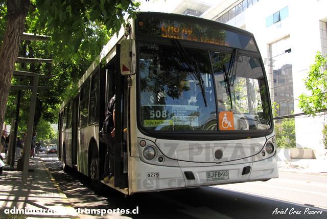 Transantiago - Metbus - Caio Mondego H / Mercedes Benz (BJFB93)