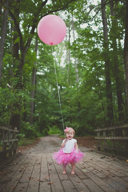 Baby girl first birthday photo ideas