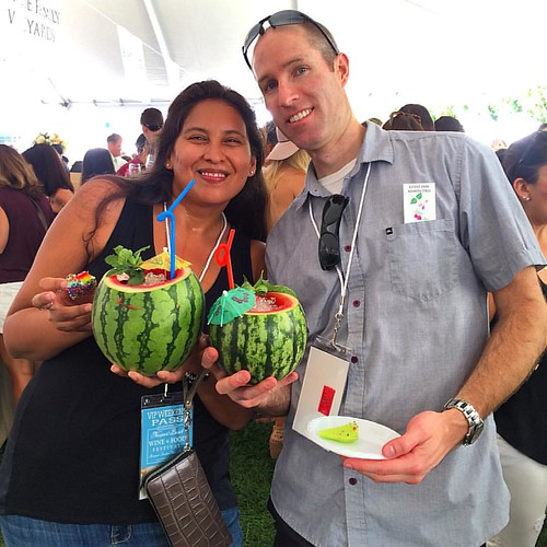 Shut the front door! Get in line for @cruzanrum Newport Swizzle! #NBWFF