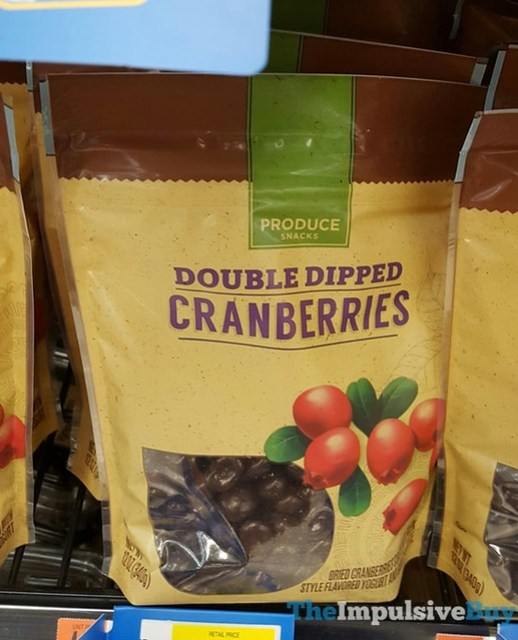 Produce Snacks Double Dipped Cranberries