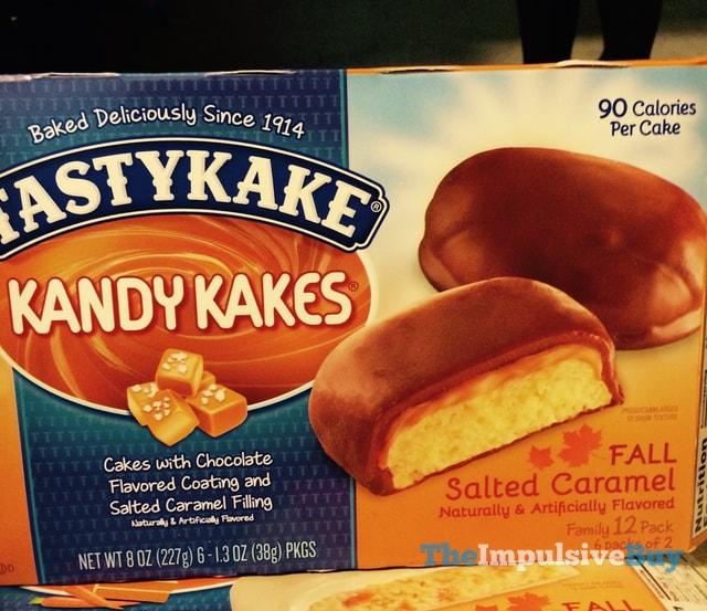 Tastykake Fall Salted Caramel Kandy Kakes