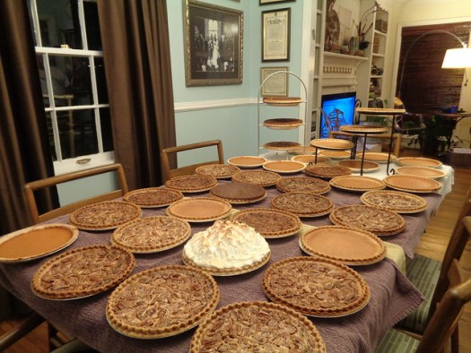 Thanksgiving Pies 2015