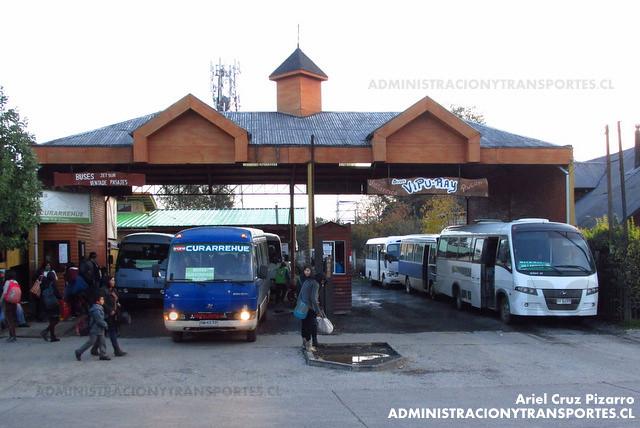 Rural Curarrehue - Buses Vipu Ray - Pucón