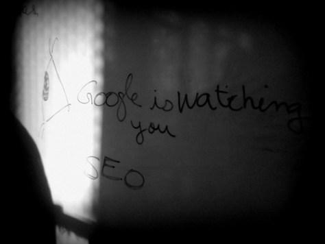 Google is watching you - règles SEO
