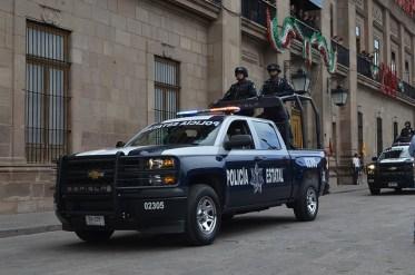 SSPE participa en desfile y mantiene vigilancia en 58 municipios por fiestas patrias
