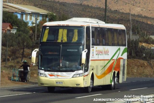 TACC Expreso Norte - Norte Chico - Busscar Jum Buss 400 / Mercedes Benz (BDYG12)