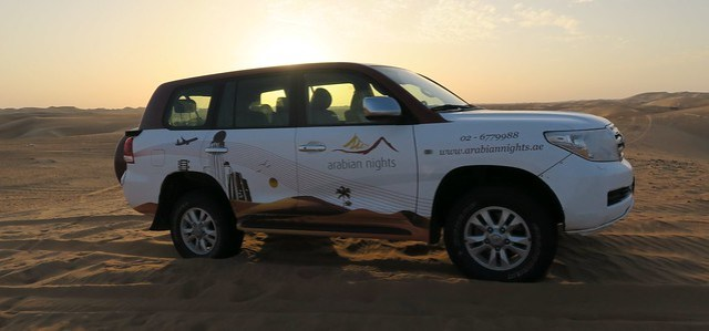 arabian nights village dune bashing 4 wheel drive