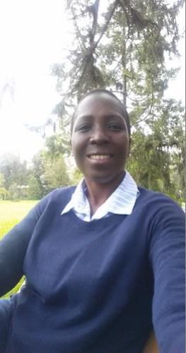 Mariama Fofanah, nutrition specialist at the International Potato Center (CIP)