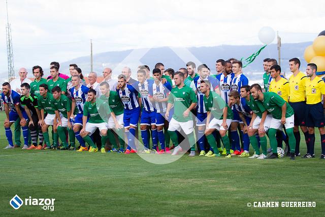 Pretemporada 15/16. SDC Galicia de Mugardos - R.C. Deportivo