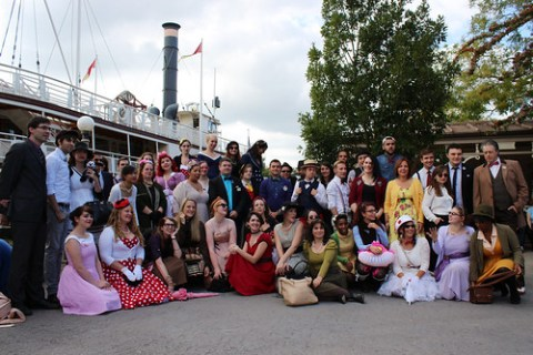Dapper Day + Disneybound France group shot