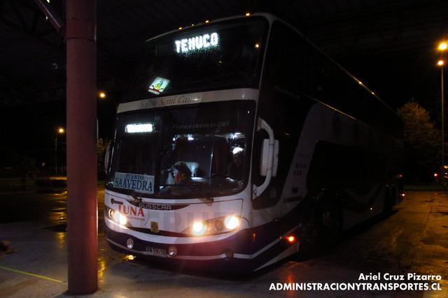 Pullman Luna Express - Temuco - Busscar Panorâmico DD / Scania 8x2 (BWFK15)