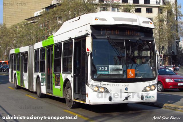 Transantiago - Subus Chile - Caio Mondego LA / Volvo (ZN6327) (9041)