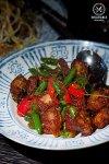 Mhu Grob Pad Prik King, $15, Chat Thai, Haymarket. Sydney Food Blog Review