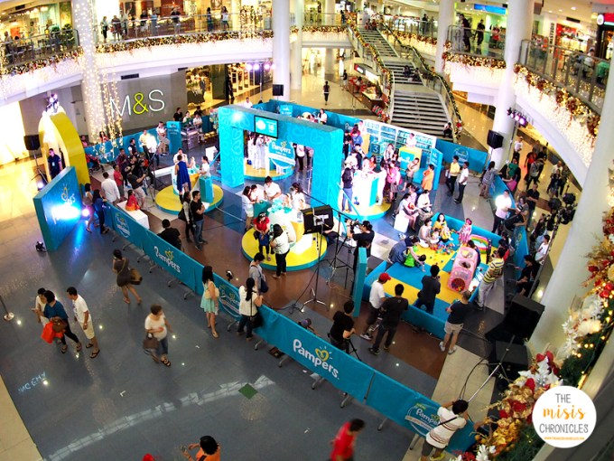 pampers baby dry challenge at robinsons place ermita