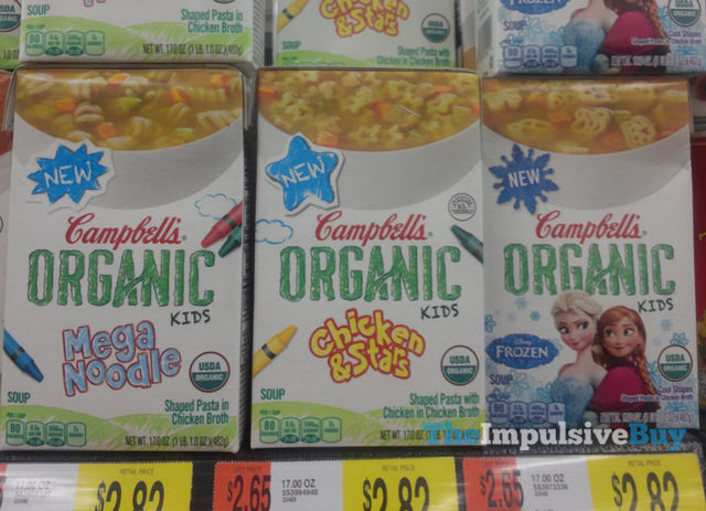 Campbell's Organic Kids Soup