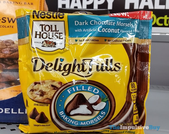 Nestle Toll House Dark Chocolate Morsels with Coconut Filling DelightFulls