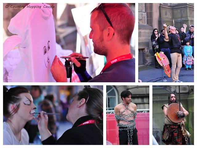 Street Performers Edinburgh