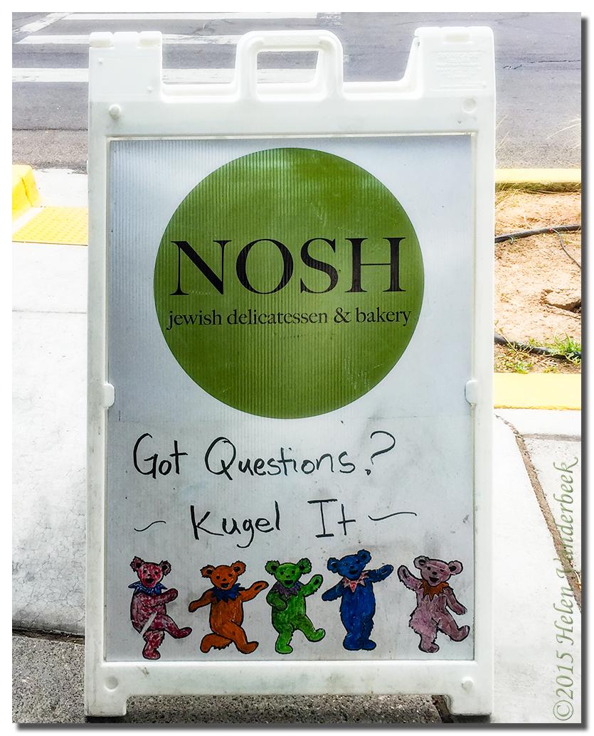 Got Questions? ... Kugel It!