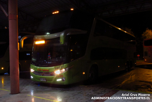 Tur Bus - Temuco - Marcopolo Paradiso 1800 DD / Mercedes Benz (FVWW98)