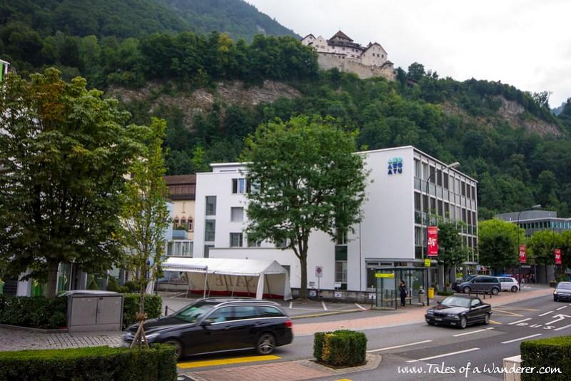 VADUZ - Schloss Vaduz