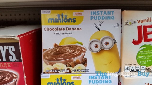 Minions Chocolate Banana Instant Pudding