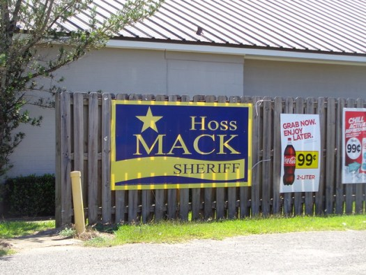 Hoss Mack, Baldwin County, Alabama Sheriff
