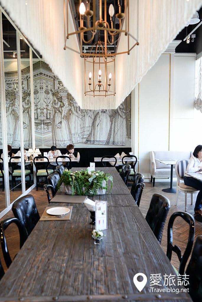 《曼谷美食餐厅》Audrey Cafe Glamour:贵妇百货明星甜点餐厅