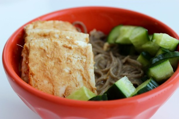 Hot and Sour Soba Noodle