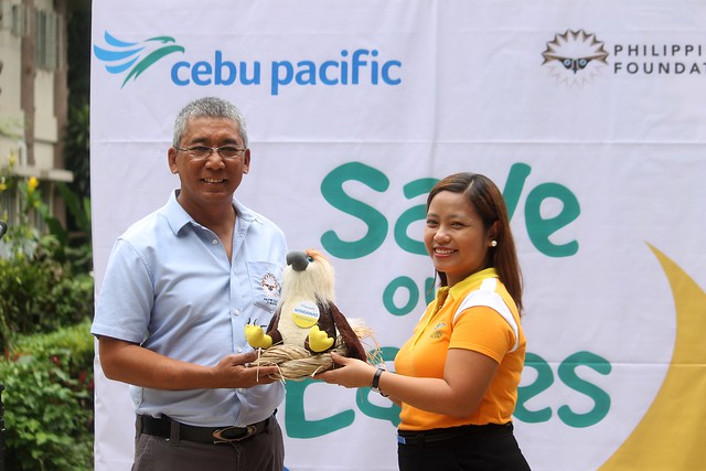 "Cebu Pacific Adopts Philippine Eagle ""Mindanao"""