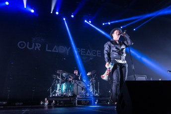 Our Lady Peace + I Mother Earth @ Abbotsford Centre - October 15th 2016