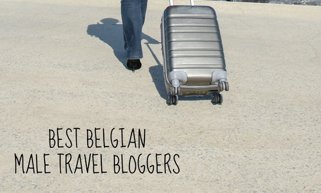 Male travel bloggers
