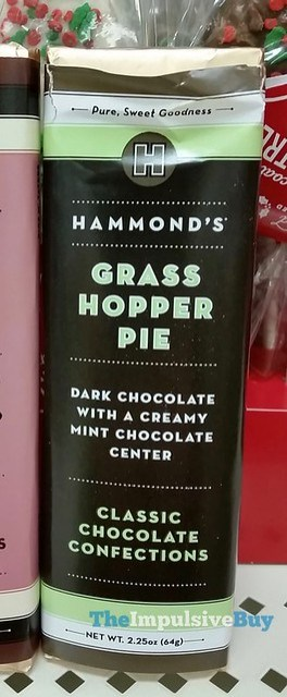 Hammond's Grasshopper Pie Bar