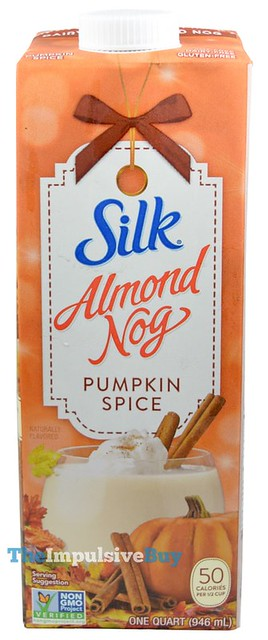 Silk Pumpkin Spice Almond Nog