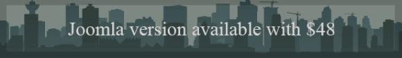 Citilights real estate joomla template