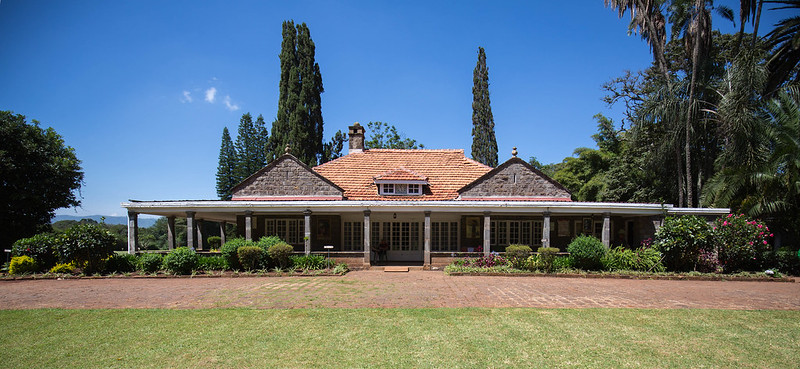 Out Of Africa Movie Setting At Karen Blixen Stands 30