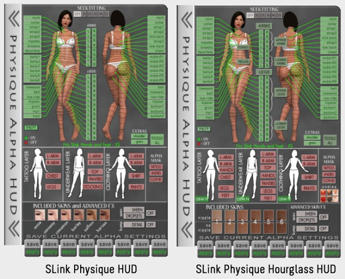 SLink Physique Hourglass