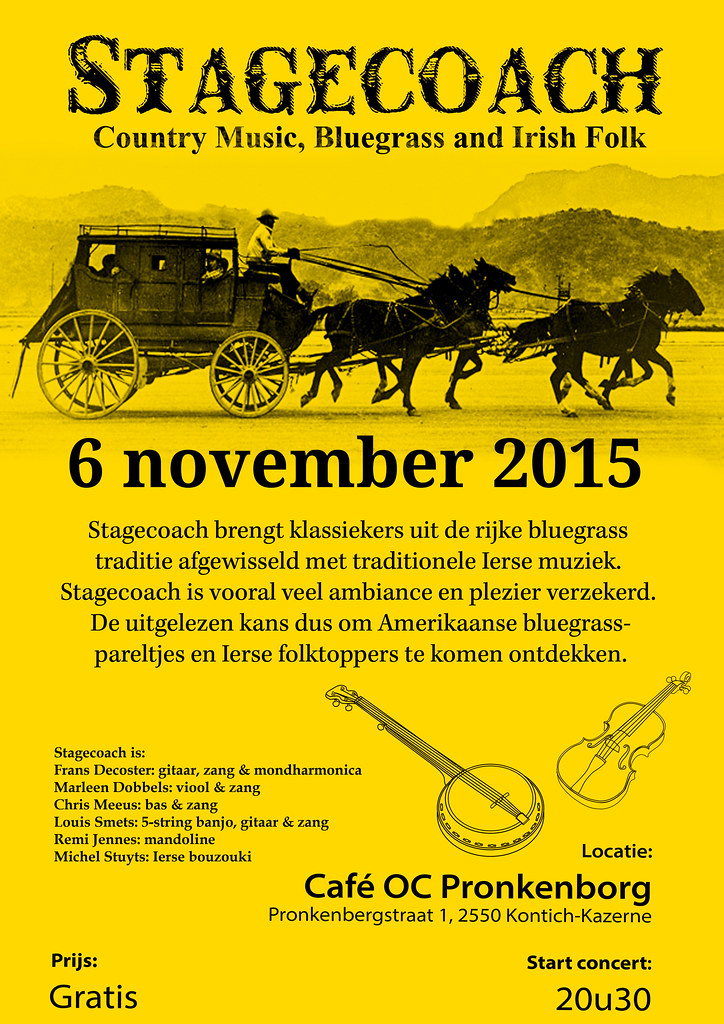 Stagecoach in Kontich