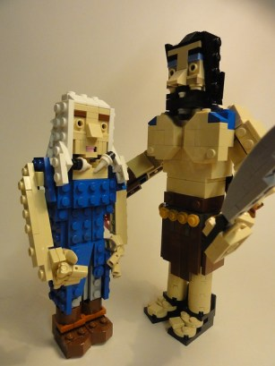 LEGO Dany and Khal Drogo