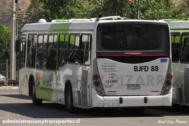 Transantiago - Subus Chile - Marcopolo Gran Viale / Volvo (BJFD88) (7157)