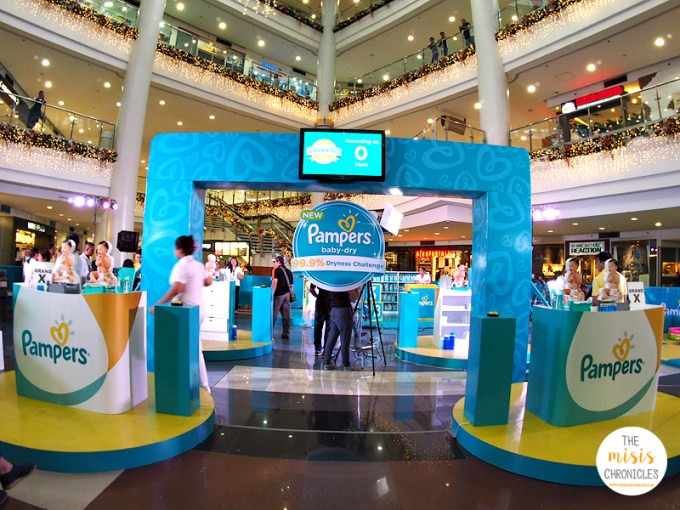 pampers baby dry challenge robinsons