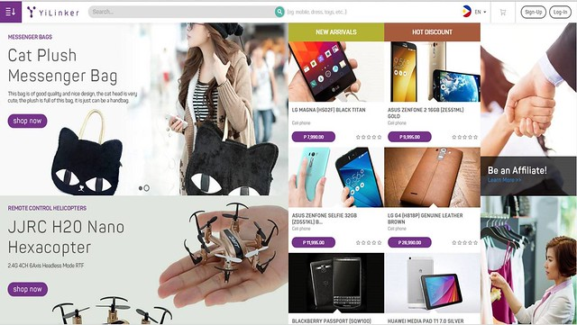 YiLinkers Shopping Site 2