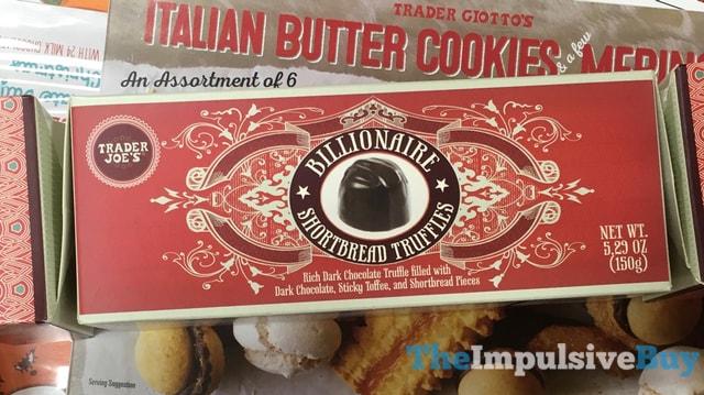 Trader Joe's Billionaire Shortbread Truffles