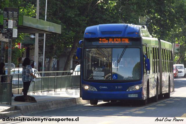Transantiago - Subus Chile - Caio Mondego LA / Volvo (ZU5546) (9347)