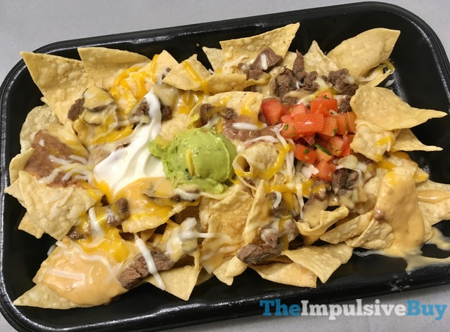 Taco Bell Steakhouse Nachos