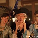 Viajefilos en el Carnaval de Venecia, cena de carnaval 18