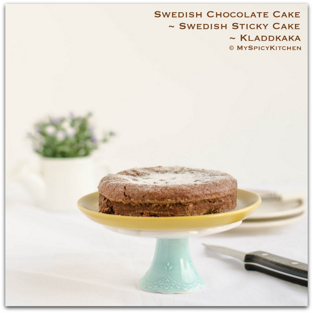 Swedish Cake, Sticky Chocolate Cake, Mud Cake, Chocolate Cake, Swedish Food, Bake-a-thon, Bakeathon 2015,
